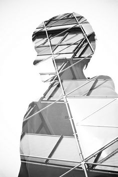 Shapes in a silhouette... so interesting. I'm on a double exposure kick. I have some experimenting to do.