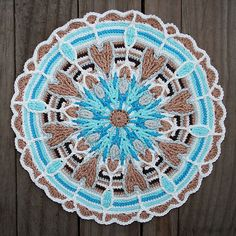 Ravelry: Crochet Overlay Mandala No. 4 pattern by CAROcreated design