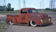 1948 Ford F1, a rusty beauty