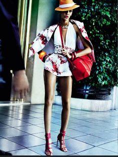 awesome Vogue Brasil Junho 2013 | Editorial de Moda | Joan Smalls por Mario Testino