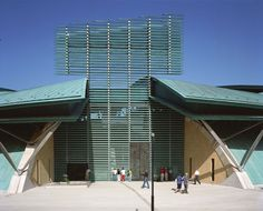 Image 1 of 20 from gallery of Padre Pio Pilgrimage Church / Renzo Piano Building Workshop. Photograph by Michel Denancé Renzo Piano, Architecture Portfolio, Architecture Diagrams, Parametric Design, Site Plans, Space Gallery, Outdoor Art, Urban Planning, Pilgrimage