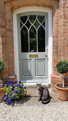 Perfect cottage door