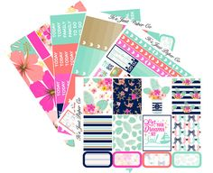 Set Sail Collection (Planner Stickers)