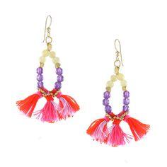Hear the Fiesta in Sunset Earring #ettika #boho #jewelry #gypsy #hippie