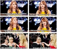 Jennifer Lawrence. Funny