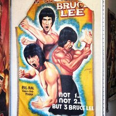 bruce lee posters in la chinatown Bruce Lee Poster, Kung Fu, Vintage Posters, Forget, Baseball Cards, Instagram Posts