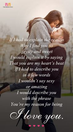 Romantic love quotes for her hd short love poems for her that are truly sweet relationships . romantic love quotes for her Love Poem For Her, Missing You Love, Love Quotes For Her, Love Yourself Quotes, Quotes For Him, Couple Quotes, Sweet Words For Her, Husband Quotes, Love My Wife