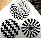 op art on CD's
