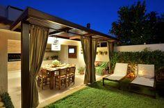 Finde rustikaler Garten Designs in von Stefani Arquitetura. Entdecke die schönsten Bilder zur Inspiration für die Gestaltung deines Traumhauses.