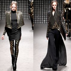 The gown is made by Pucci and headpiece by Gareth Pugh. Description from nyachii.wordpress.com. I searched for this on bing.com/images