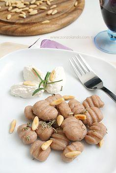 Zonzolando: Gnocchi di farina di castagne