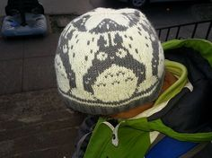 Ravelry: DezKnits' Totoro hat. I could never do this but OMG perfect if Robert ever has a kid.