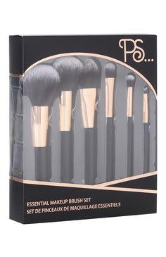 Primark - Set de brochas de maquillaje esenciales