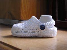 Tuto chausson bébé  au crochet par Magshoes sur Etsy