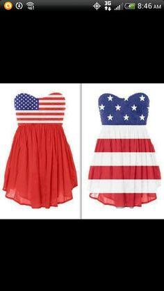 Fourth of july dress(: