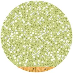 Windham Fabrics, Oh Clementine, Mini Floral Green