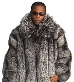 Mens Red Fox Fur Coat | Santa Barbara Institute for Consciousness