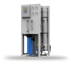 How do AXEON Brackish Water Reverse Osmosis Systems produce low TDS water?