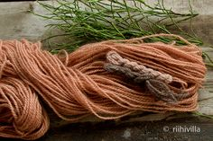 Riihivilla, Dyeing with natural dyes Natural Colors, Stems, Yarns, Hair Styles, Nature, Period, Crafts, Printing, Plant