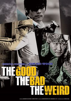 "The Good, the Bad, and the Weird - saw this preview, got it, watched it. Lots of action, ""tasteful"" shooting and humor in a chow mein vs. spaghetti western."