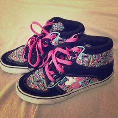 Punkrose sneakers size 6 Barley worn but super cute!!! Shoes Sneakers