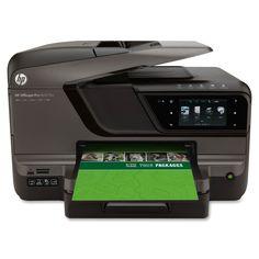 Hewlett Packard Hp Officejet Pro 8600 Plus E-All-In-One Wireless Multifunctional Colour Printer - discount inkjet cartridges printer ink cheap inkjet Printer Driver, Hp Printer, Printer Scanner, Inkjet Printer, Printer Paper, Laser Printer, Color Photo Printer, Wifi, Drucker Scanner