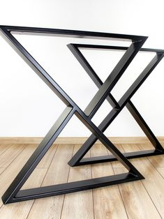 Z-shaped Metal Table Legs (set of Industrial Style Dining Table Legs, Steel Kitchen Table Legs, Z Metal Table Legs, Z Metal Desk Legs Metal Leg Dining Table, Metal Outdoor Table, Kitchen Table Legs, Metal Tables, Table Bases, Metal Desk Legs, Steel Table Legs, Metal Desks, Metal Legs For Table