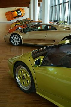 A Trip to the Lamborghini Museum - Bologna - The region around Bologna is known as the Land of Motors because it is home to boutique car manufacturers (Ferrari also has a museum in the area). The museum boasts a unique collection of rare Lamborghini models. Perhaps even more interesting to car lovers is the Lamborghini factory visit that can be booked through the museum.