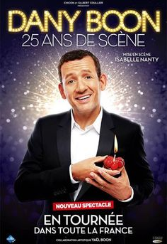 Dany Boon dévoile le nom de son spectacle http://xfru.it/PdBdd1