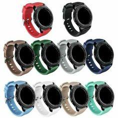 GinCoband Samsung Gear Bands Replacement Accessories for Samsung Gear Frontier and Gear Classic Smart Watch 10 Color No Tracker Watch Buckle Design) Losing Belly Fat Diet, Lose Belly, Samsung Gear S3 Frontier, Lose 15 Pounds, Wearable Technology, Apple Watch Series, Sport Watches, Watch Bands, Smart Watch
