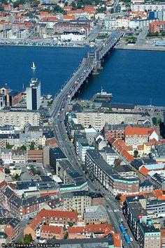 Aalborg, Denmark.  Danish urban planning: LOVE IT!