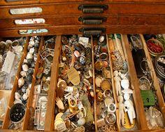 Tin Type Cabinet
