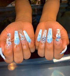 Image in nail art 🧚🏻♀️ collection by babylion🪐🦩 Manicure, Aycrlic Nails, Hair And Nails, Coffin Nails, Stiletto Nails, Gorgeous Nails, Pretty Nails, Fire Nails, Best Acrylic Nails