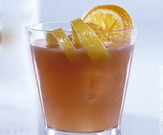 The Sicilian Kiss: 1 1/2 oz. Southern Comfort, 1/2 oz. Amaretto. Serve on the rocks in old-fashioned glass