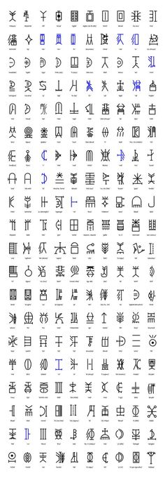 Symbols and Their Meanings | Egyptian Symbols And Their Meanings Nsibidi writing system: