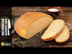 Domácí chléb zvládnete připravit i vy. Šéfkuchař Roman Paulus prozradil rodinný recept na zámecký bramborový chléb s žitnou moukou. Bread, Baking, Youtube, Food, Linz, Brot, Bakken, Essen, Meals