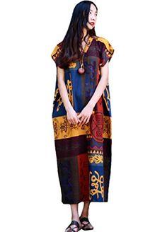 Minibee Women's Summer Long Style Patchwork Print Dress S... http://www.amazon.com/dp/B01G8KJP60/ref=cm_sw_r_pi_dp_Dtbsxb1JR4GTS