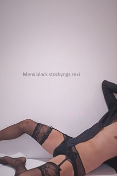 Men Wearing Lingerie, Men Fashion, Nylons, Character Shoes, Dance Shoes, Rompers, How To Wear, Black, Clothing