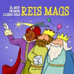 """""""El meu primer llibre dels Reis Mags"""". Editorial Estrella POlar (también en castellano) Comic Books, Comics, Cover, Pole Star, Libros, Xmas, Cartoons, Cartoons, Comic"""