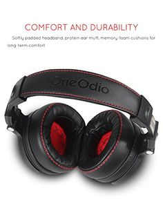 Professional DJ Headphones Wired Professional Studio Pro DJ Headphones With Microphone Over Ear HiFi Monitors Music Headset Earphone For Phone PC Best Gifts For Gamers Gaming Earphones, Studio Headphones, Headphones With Microphone, Headphone With Mic, Headset, Ipod, Sound Isolation, Earmuffs