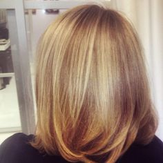 More fun with blonde. #blondehair #dimensionalhaircolor #dimensionalblonde #fallhaircolor