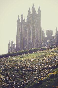 Edinburgh, Scotland. New College.