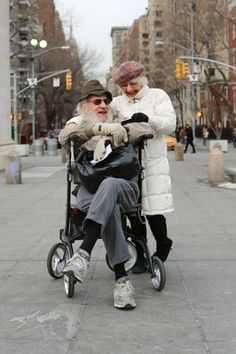 """He's wonderful in bed.""   Humans of New York"