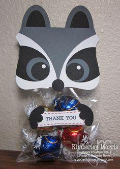 Raccoon Treat Topper