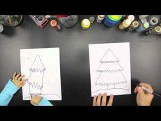 How To Draw A Christmas Tree - Art for Kids Hub