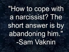 """""""Narcissists can be quite bothersome. If you're miredin a relationship with one, you mayfeel you've ceased to exist because you can barely excuse yourself to the restroom without passing a..."""""""