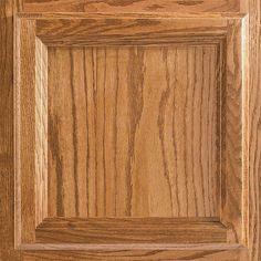 American Woodmark 13x12-7/8 in. Cabinet Door Sample in Ashland Oak Tawny