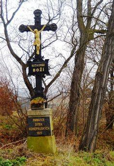 Kříž u cesty - Berounsko - Česko