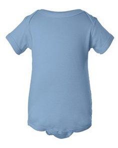 f317ab9b7ca1d STRIPES, DOTS & SOLIDS > Rabbit Skins- Baby Short Sleeve Creeper- 100%  Cotton -4400