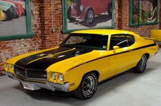 1970 Buick GSX. Maintenance/restoration of old/vintage vehicles: the material for new cogs/casters/gears/pads could be cast polyamide which I (Cast polyamide) can produce. My contact: tatjana.alic14@gmail.com